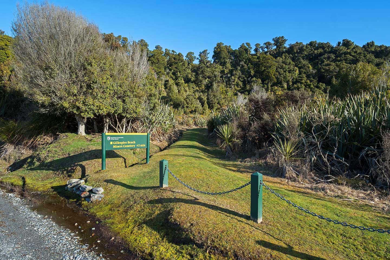 Gillespies Beach Miners Cemetery Walk,New Zealand @NZNational oarks
