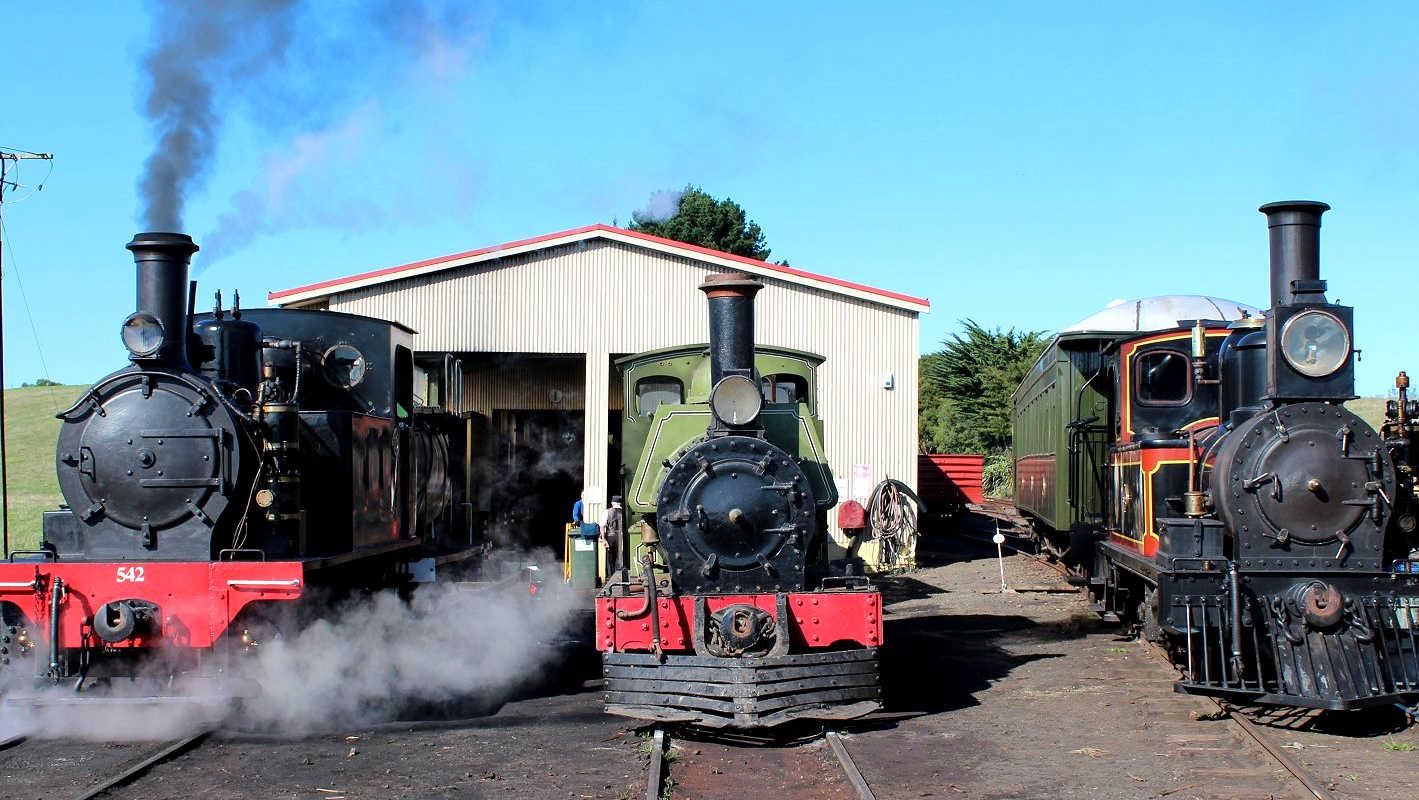Glenbrook Vintage Railway, Auckland, New Zealand @WorldPress