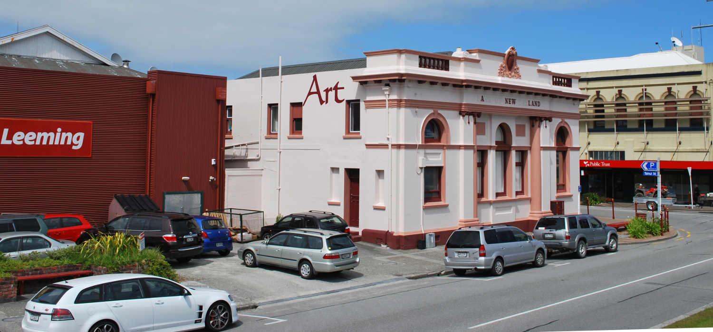 Greymouth Bank,New Zealand @Wikimedia Commons