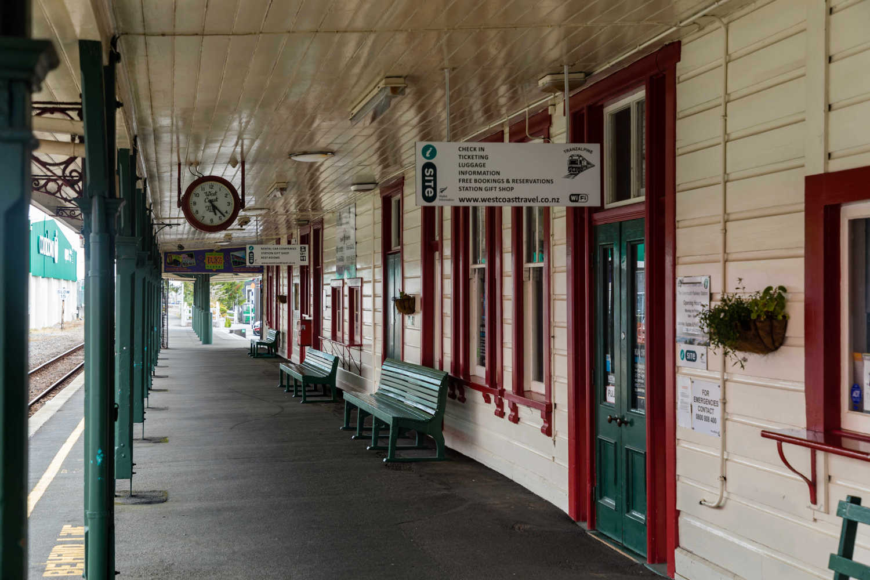 Greymouth heritage railway station