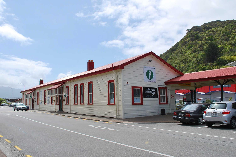 Greymouth Railway Station,New Zealand @Wikimedia Commons