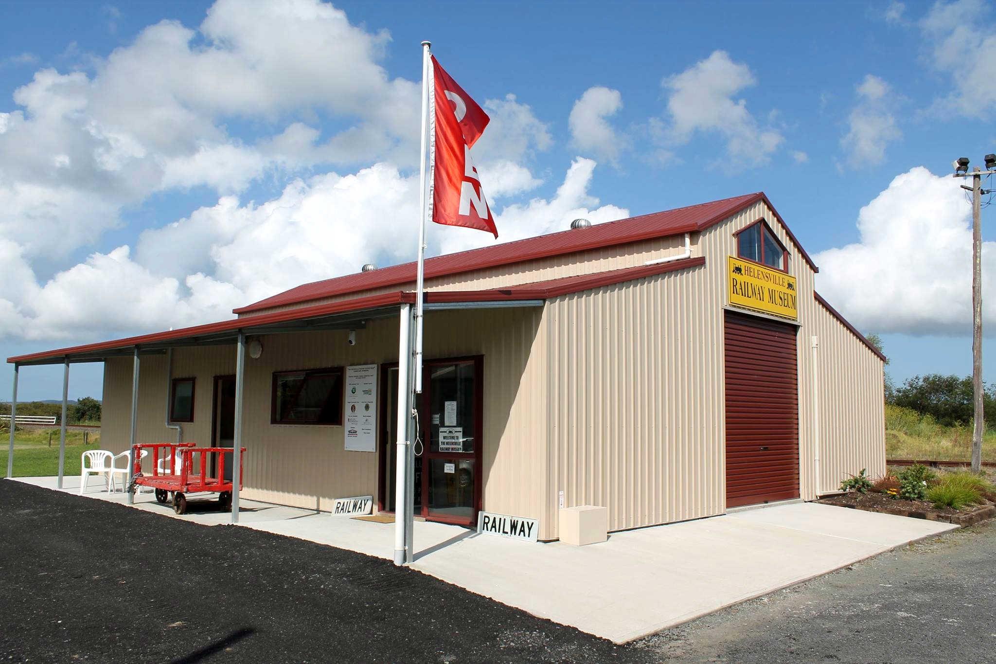 Helensville Railway Museum, Auckland, New Zealand @Helensville Railway Museum