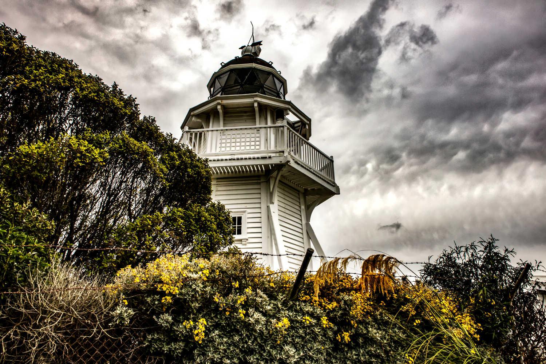 Katiki Point Lighthouse,New Zealand
