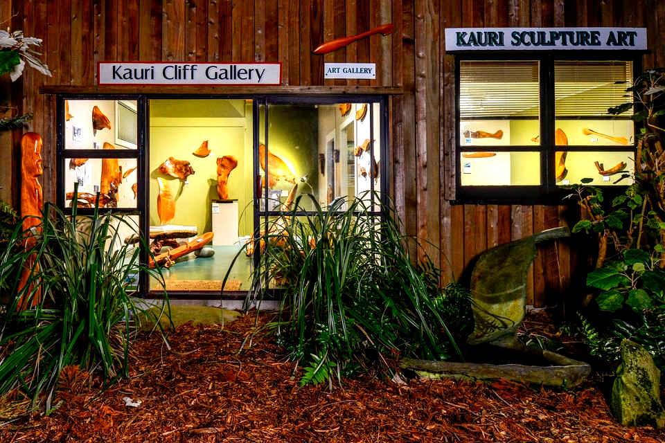 Kauri Cliff Art Gallery, New Zealand @kauricliffartgallery