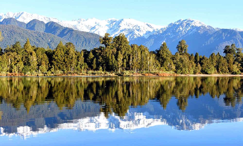 Lake Mapourika, New Zealand @Franzjoseftours