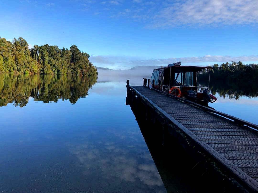 Lake Mapourika, New Zealand @George_Koo