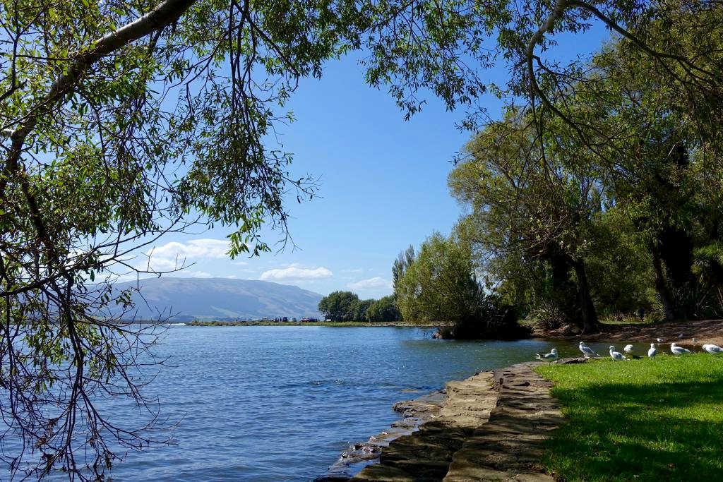 Lake Waihola, Otago, New Zealand @Milton District