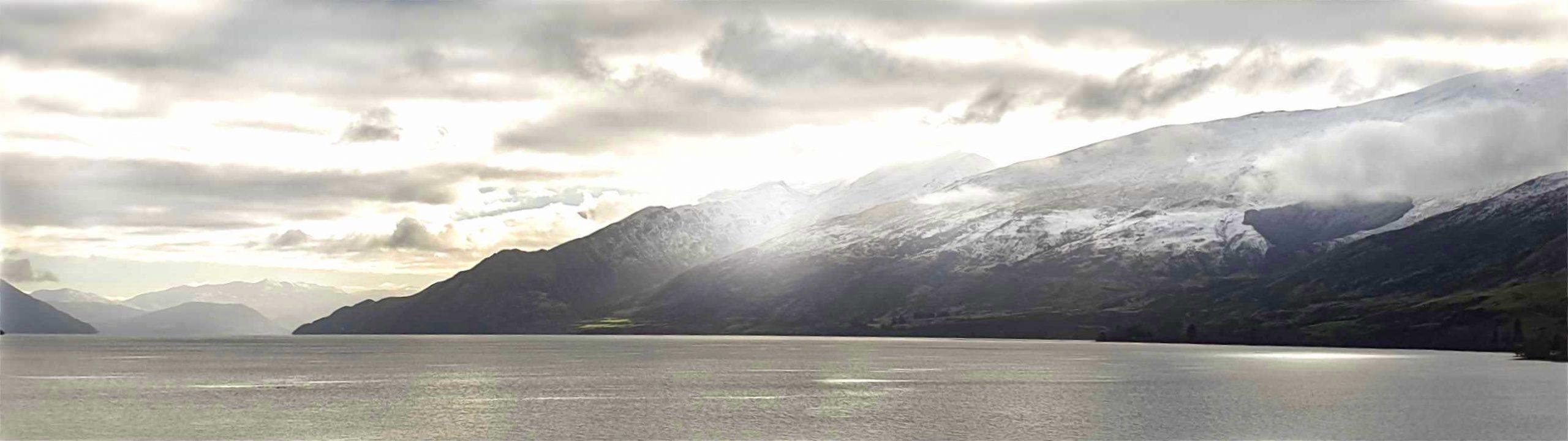 Lake Wakatipu, Southern Alps, Remarkable Ranges near Kingston