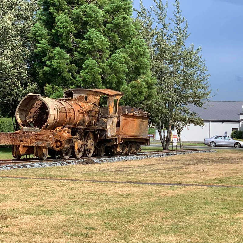 Lumsden lokomotive, Otago, New Zealand @davedunedin