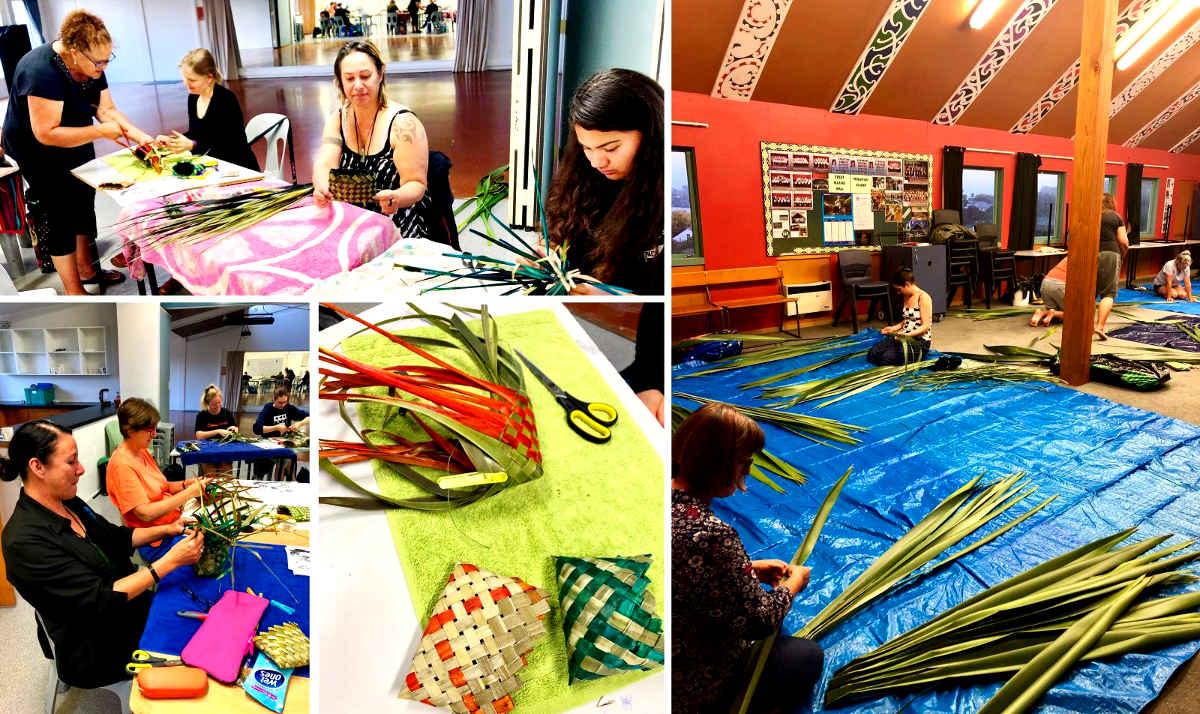 Maori weaving,New Zealand @adultlearn