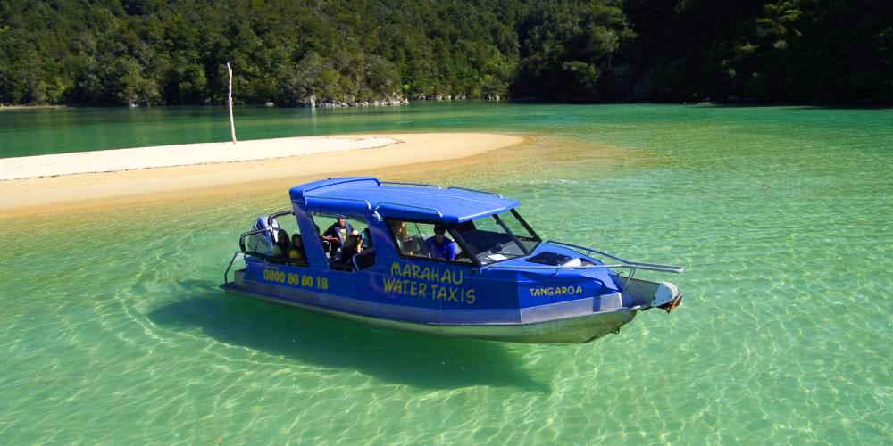 Marahau Water Taxis,New Zealand @nelsontasman
