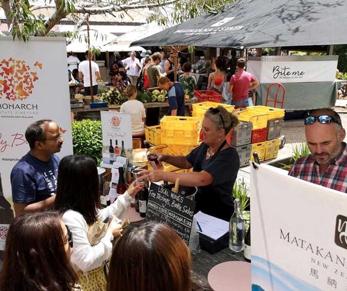 Matakana Wine market @matakanawine