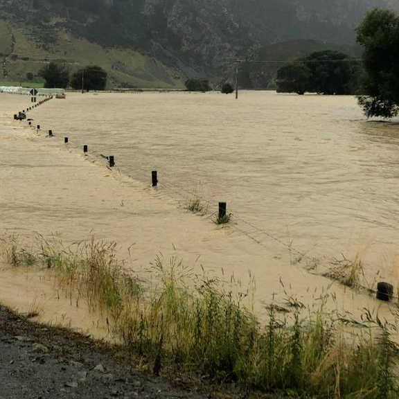 Mataura river near Athol,New Zealand @rnz