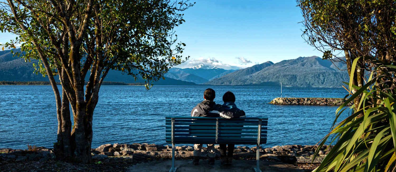 Moana, Lake Brunner lakeside walk, New Zealand