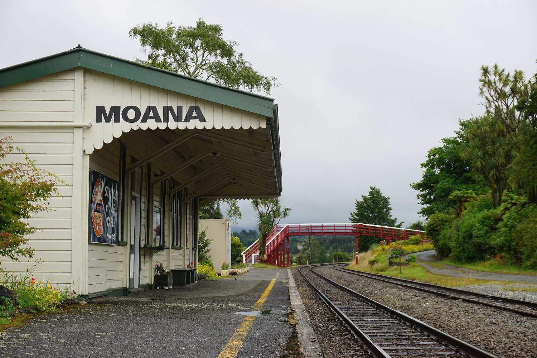 Moana railway station,New Zealand @Tomiĉo