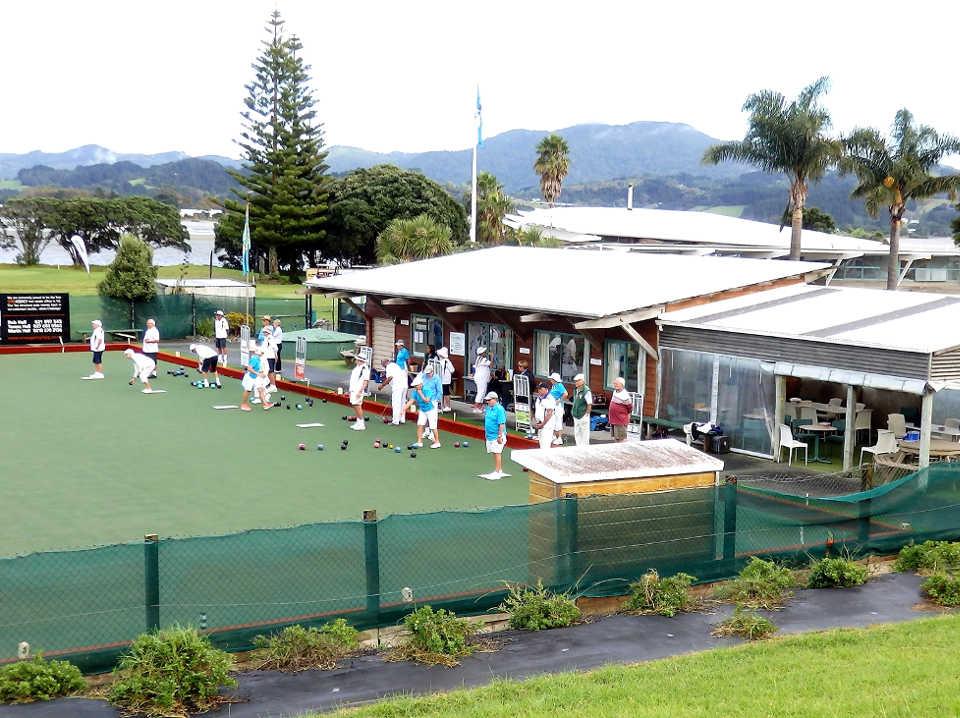 Omaha Beach Bowls Club, Auckland, New Zealand @Omaha Beach Bowls Club