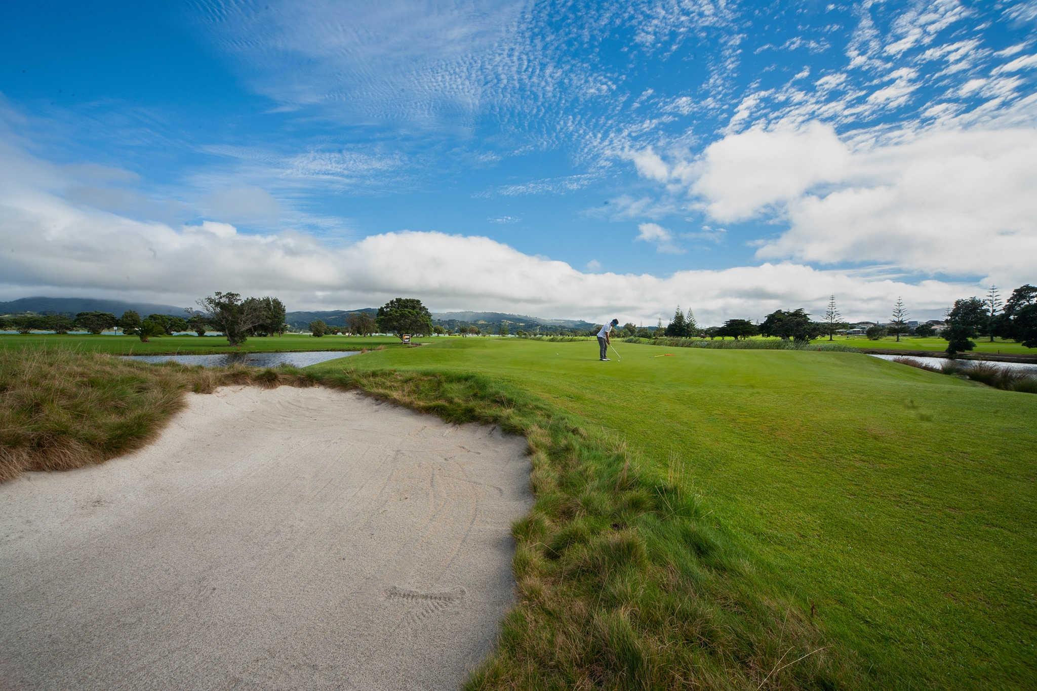 Omaha Beach Golf Club, Auckland, New Zealand @Omaha Beach Golf Club & Community Centre