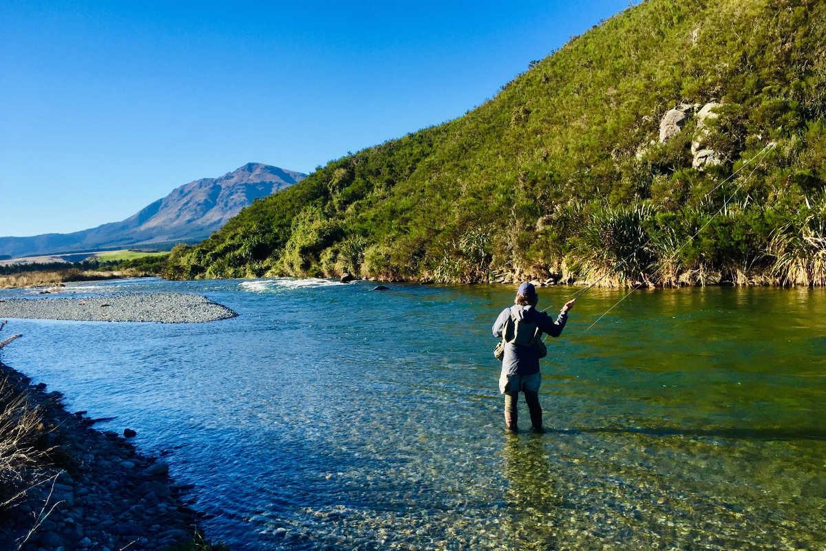 Oreti River, Otago, New Zealand @WordPress