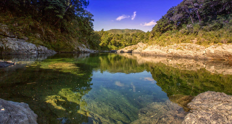 Pelorus River,New Zealand