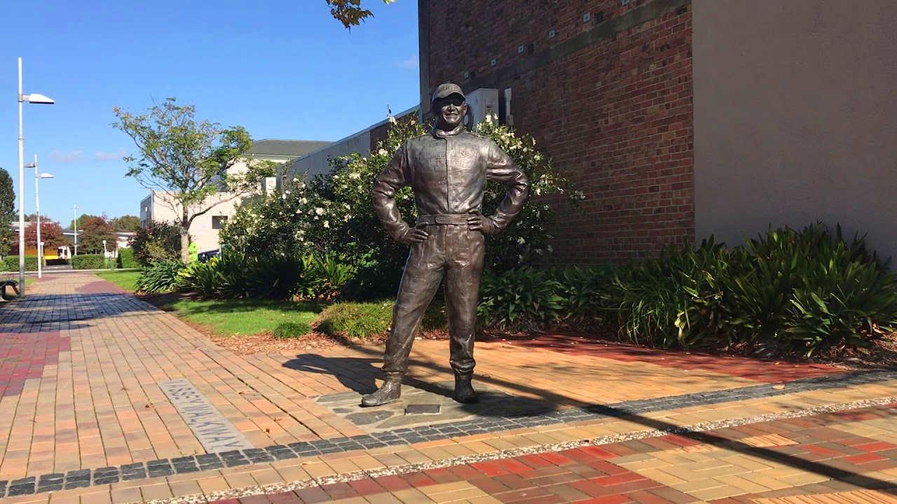 Possum Bourke statue,New Zealand @Veronica Maynard