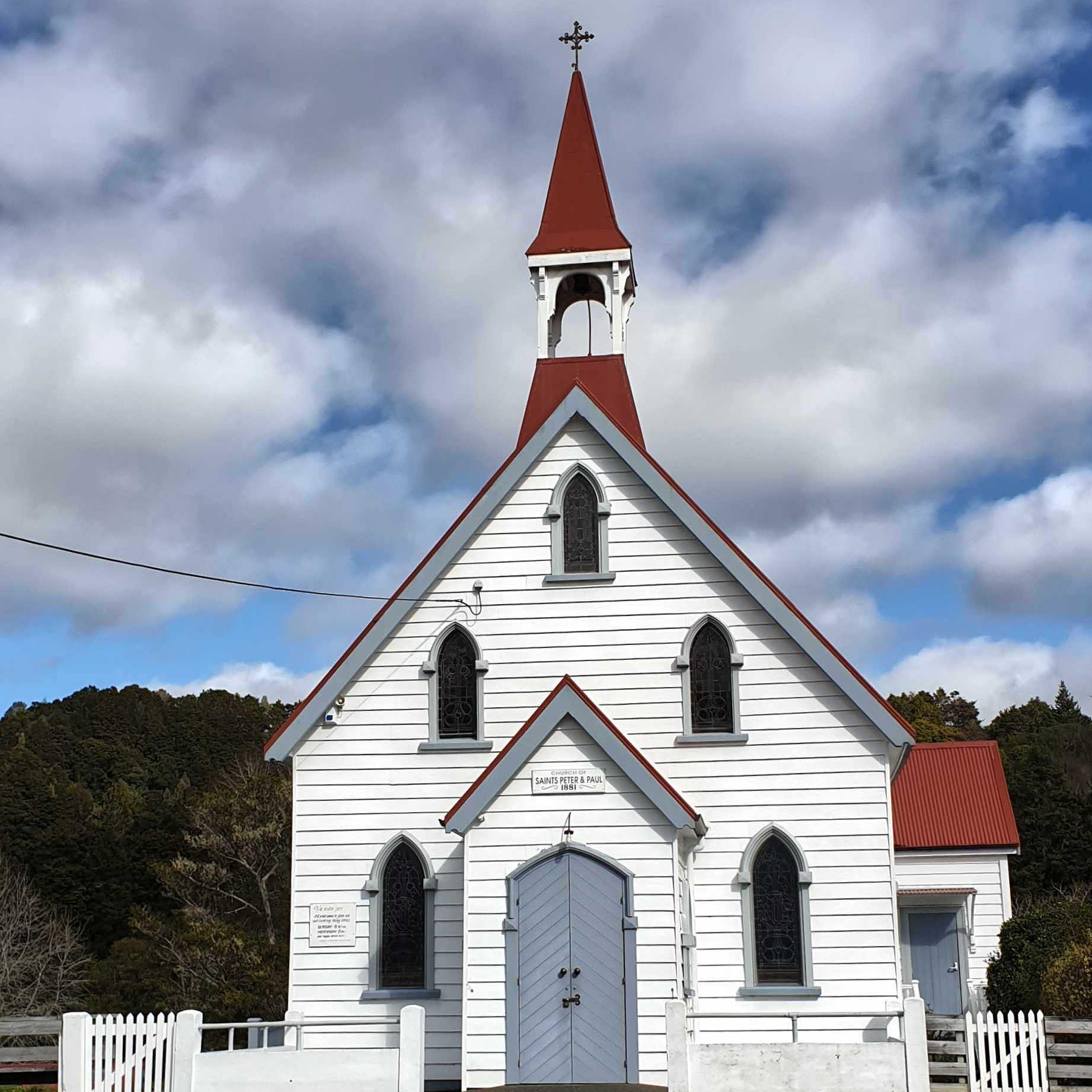 Puhoi Heritage Catholic Church, Auckland, New Zealand