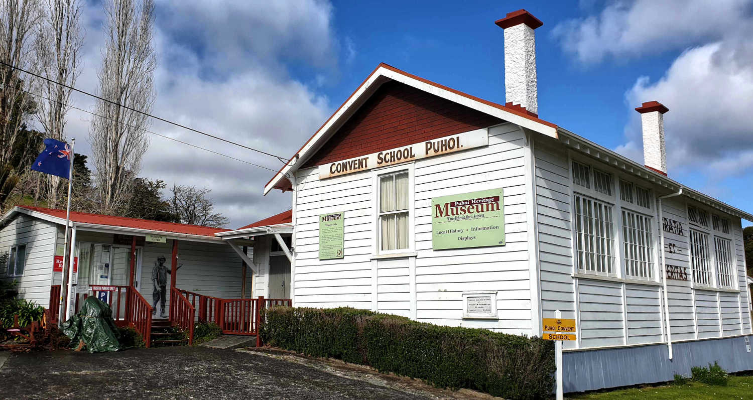 Puhoi Museum housed in former Convent School, Auckland, New Zealand