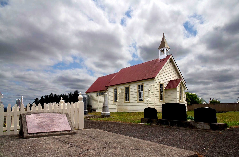 Pukekohe's heritage East Presbyterian church, Auckland, New Zealand @aklheritage