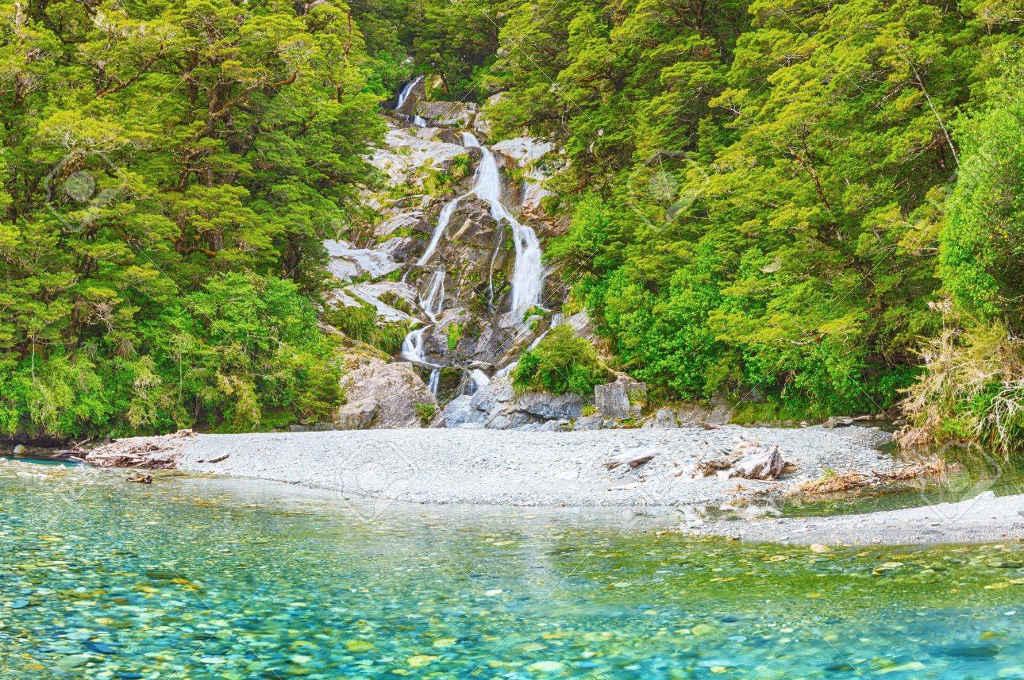 Roaring Billy Falls, New Zealand @123RF