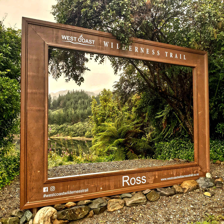 Ross selfie location, West Coast,New Zealand