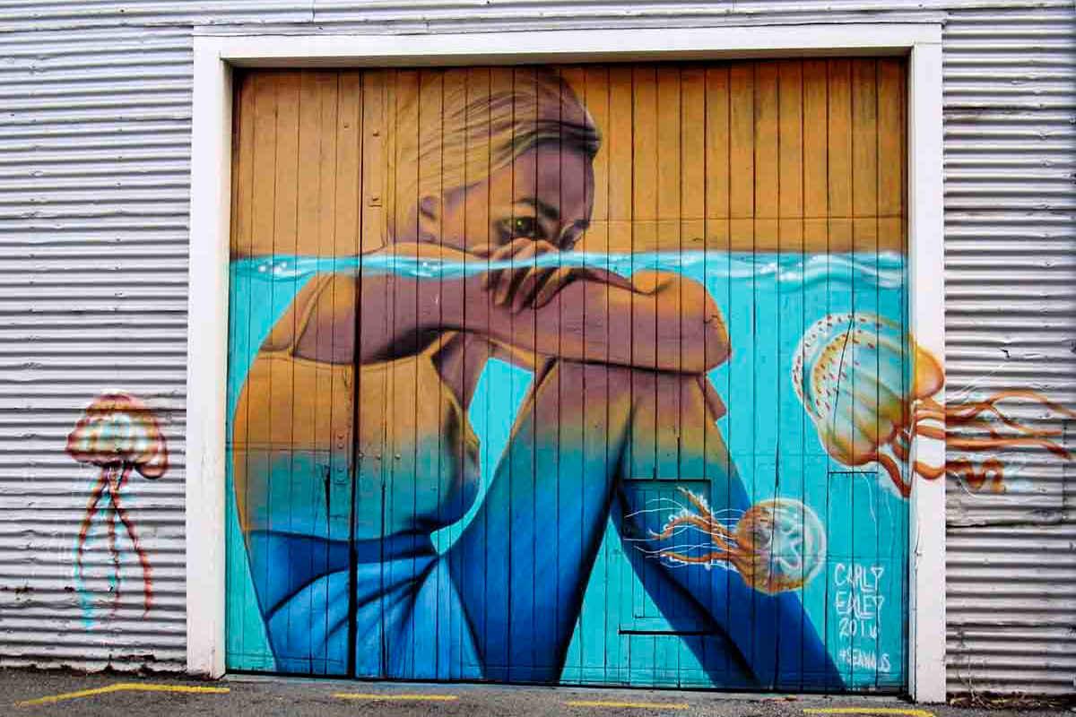 Sea Walls - Napier's Spectacular Street Art @Trippin' Turpins