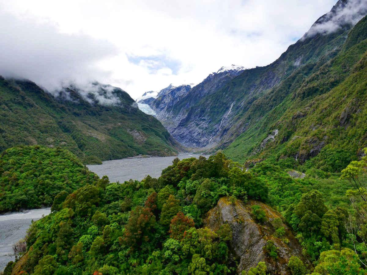 Sentinel Rock Walk, New Zealand @Hiking Scenery