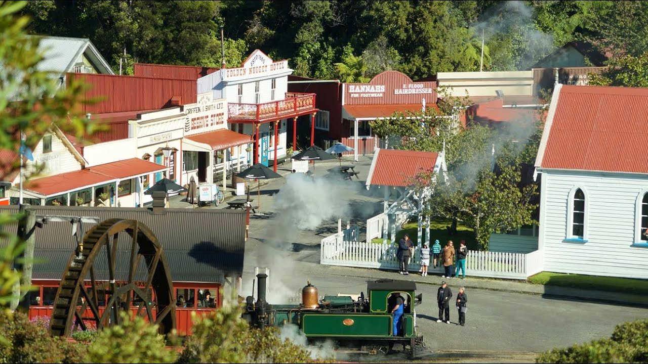 Shantytown, Greymouth,New Zealand @MustDoNewZealand