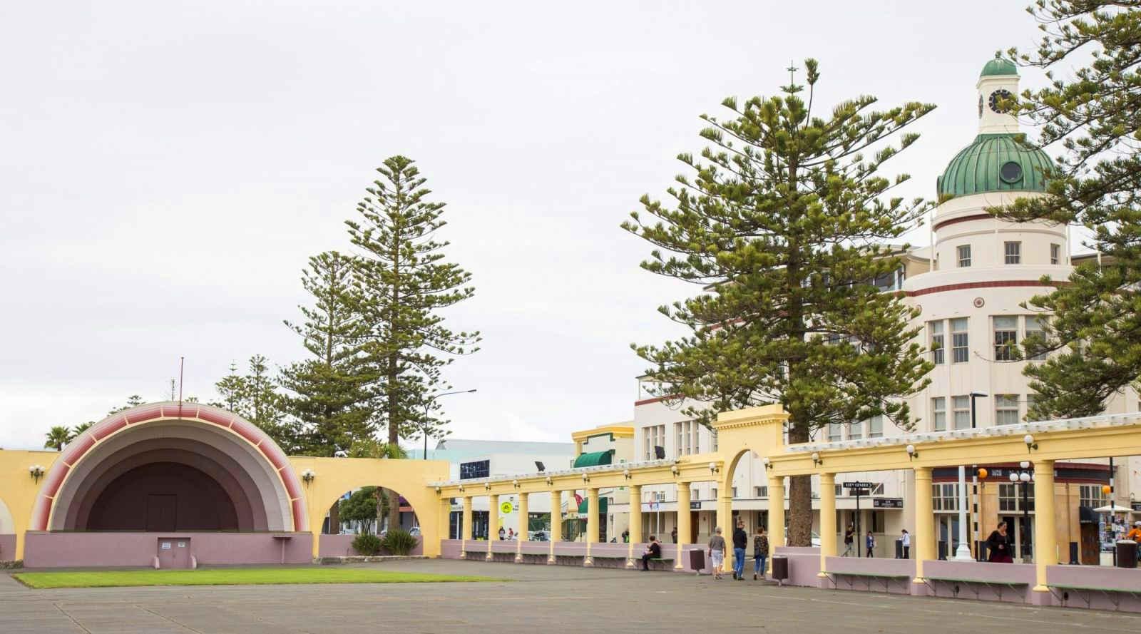 Soundshell public pavilion @The west Australian