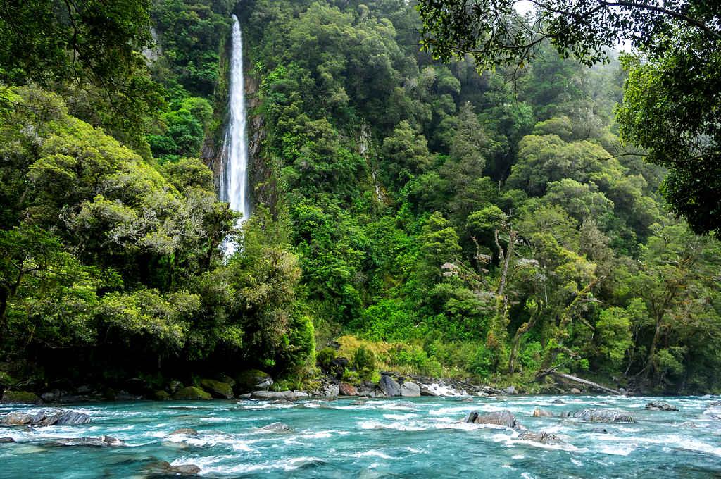 Thunder Creek waterfalls @Flickr