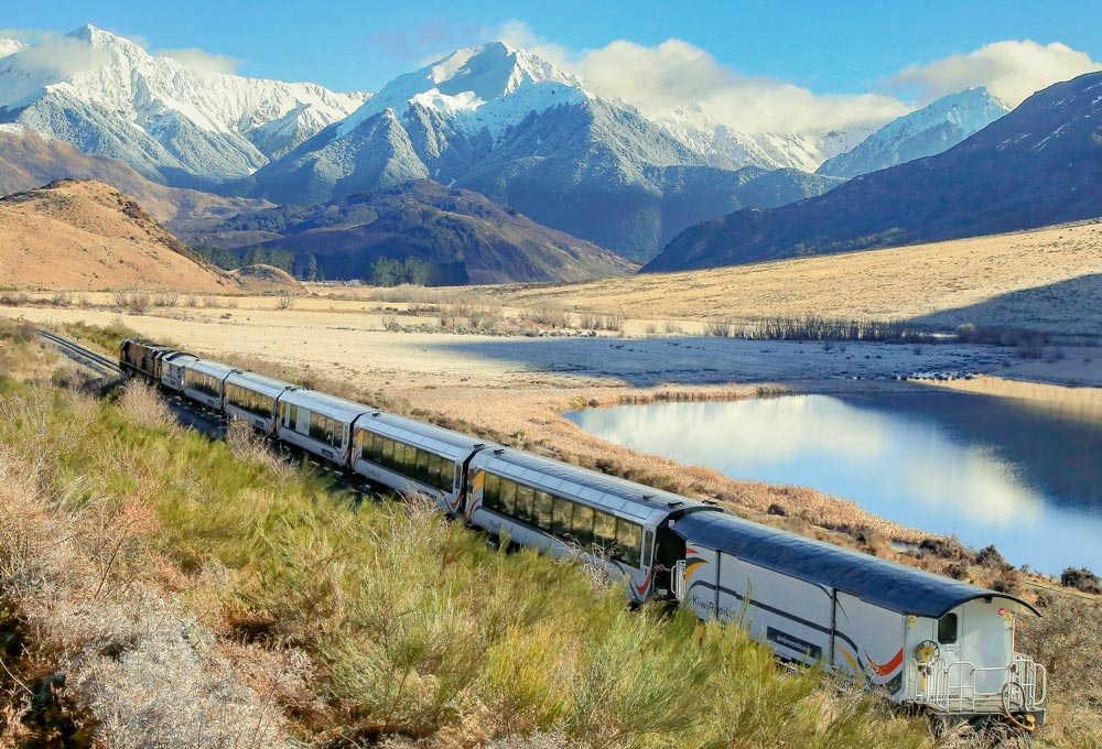Tranzalpine train, Greymouth,New Zealand @greatjourneysofnz