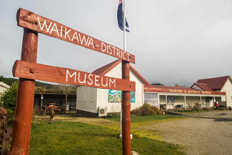 Waikawa Museum,New Zealand @Venture Southland