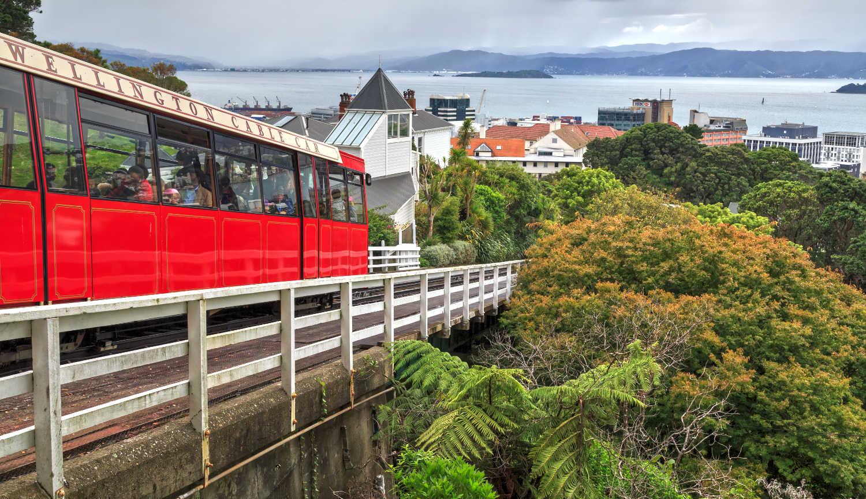 Wellington Cable Car, Wellington,New Zealand
