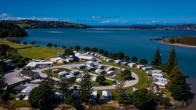 Whangateau Holiday Park,Auckland, New Zealand @leighbythesea