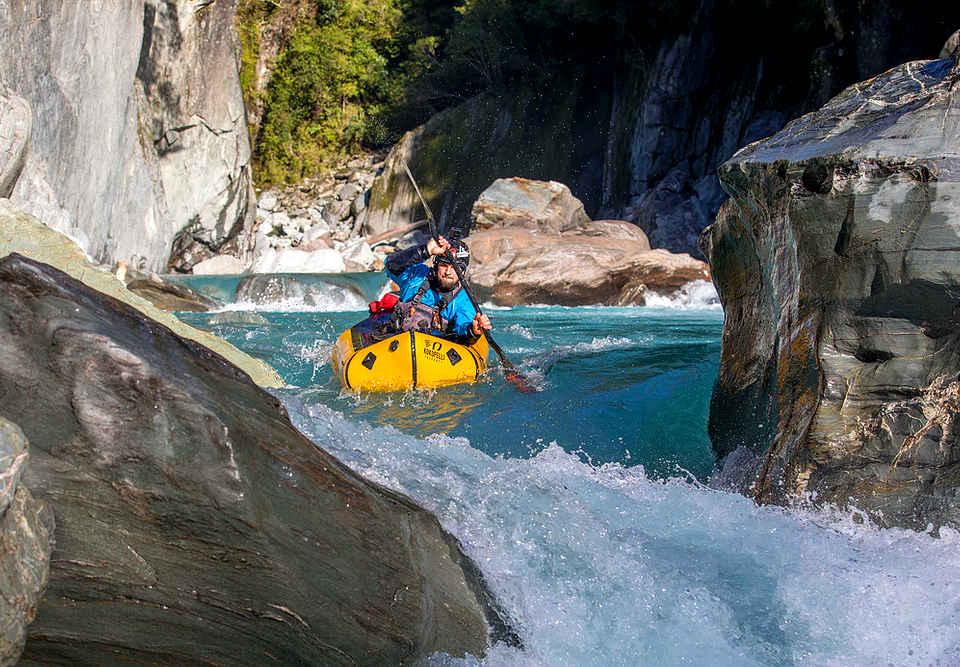 Whataroa River, New Zealand @Packraft New Zealand