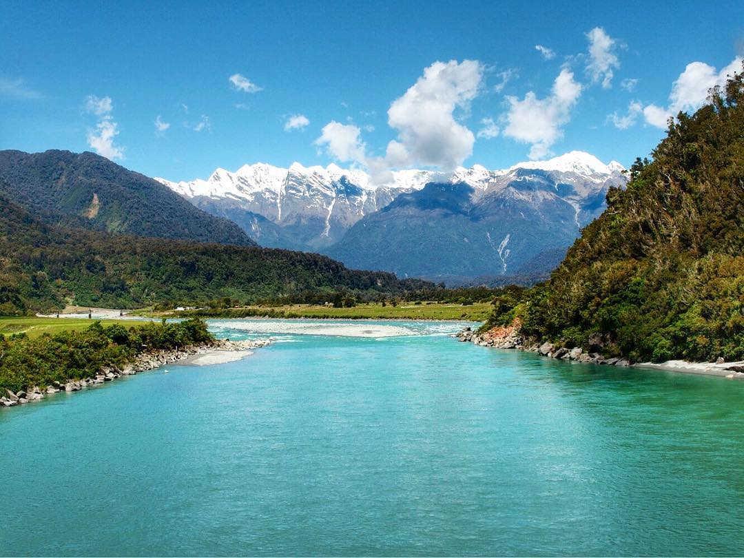 Whataroa river,New Zealand @theorganisedadventurer