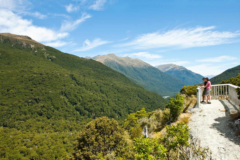 Haast Pass Lookout Track,New Zealand @Wanaka Tourism