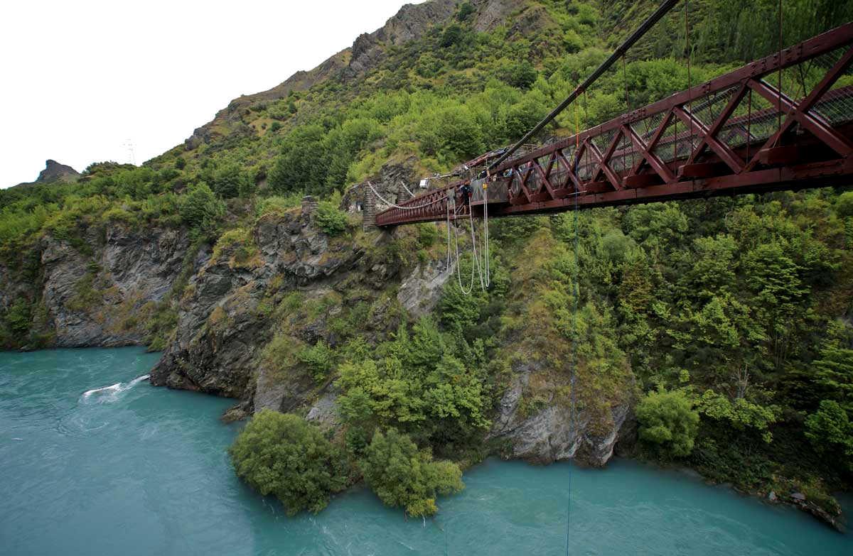 Kawarau Suspension Bridge @Doc