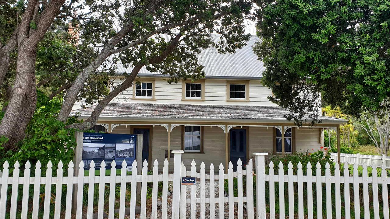 Mahurangi Regional Park Scott Homestead, Auckland