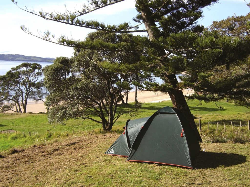 Motuihe Island campsite @RankersNZ