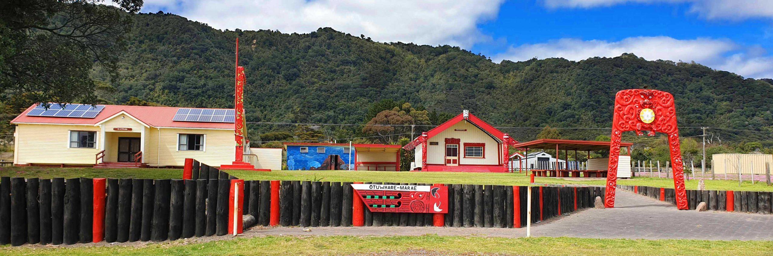 Otuwhare Marae, Omaio, Te Kaha vicnity East Cape, North Island,New Zealand