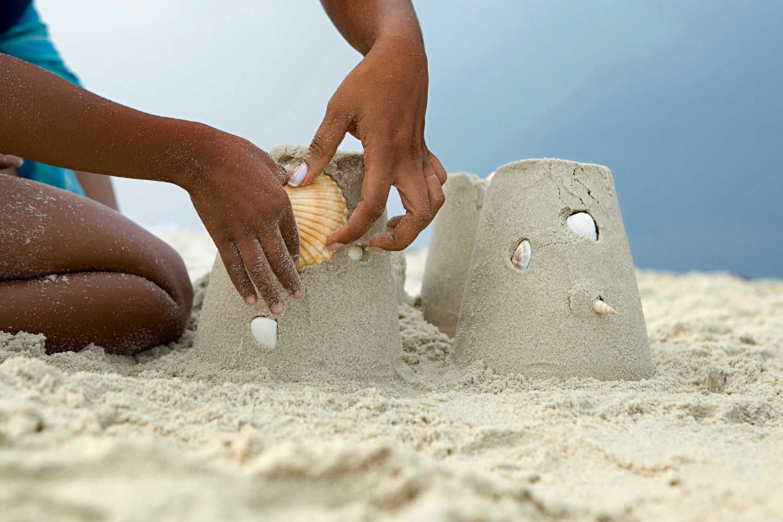 Sandcastles decoration