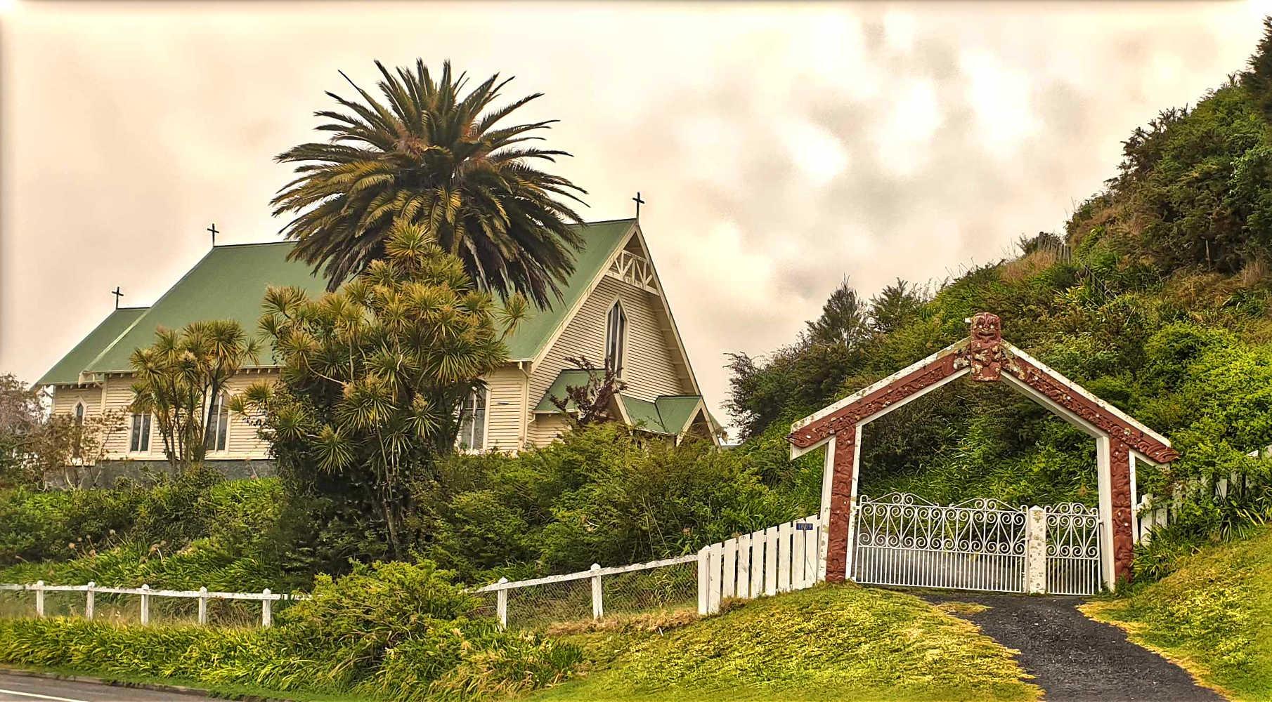 Tititiki Church,New Zealand